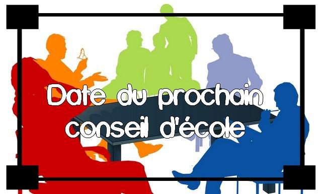 Conseil d'école n°2 – POUR INFORMATION A L'ENSEMBLE DES PARENTS