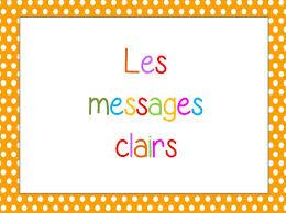 Le message clair en chantier chez les CP, CE1 et CE2